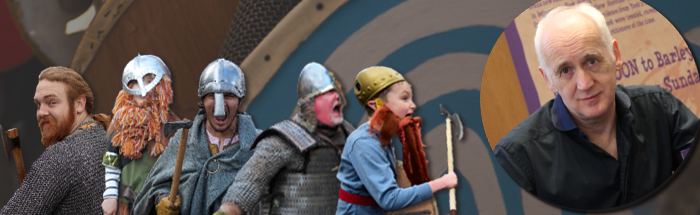 Revolting Vikings with Terry Deary
