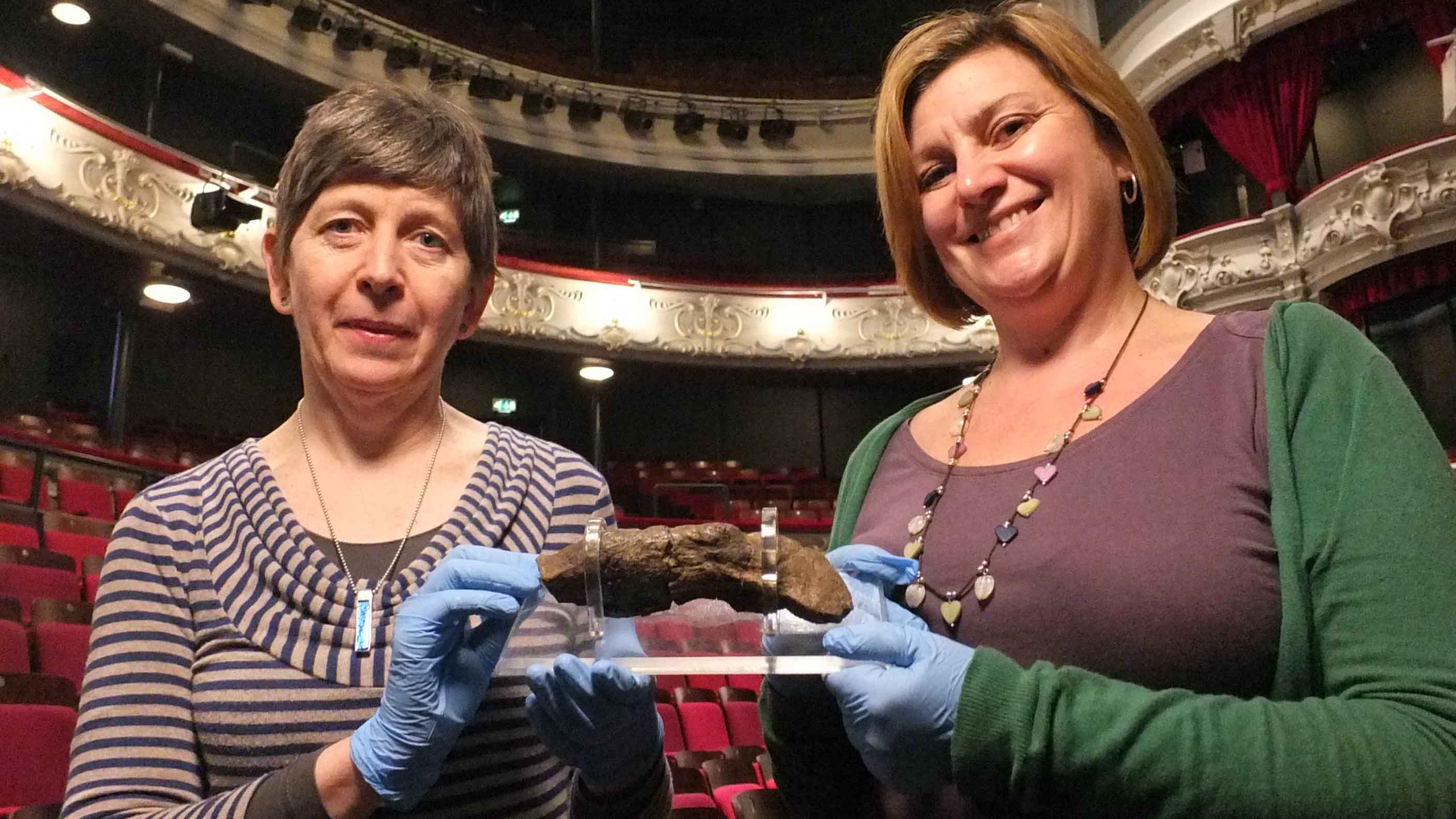 Jorvk: Life and Death exhibition launch photograph at York Theatre Royal